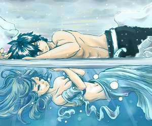 fairy tail, gruvia, and juvia image