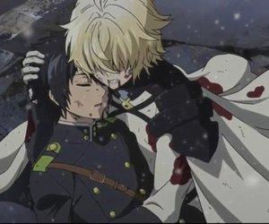 mika, owari no seraph, and anime image