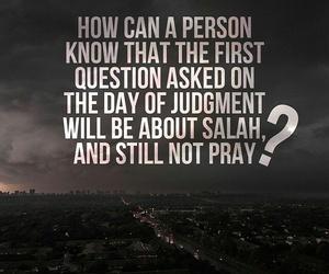 islam, muslim, and pray image