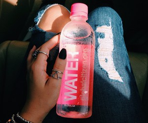 water, pink, and healthy image