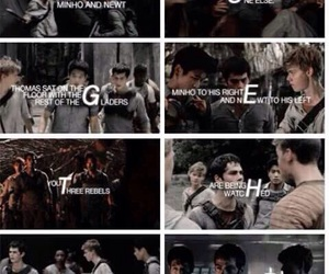 the maze runner, the scorch trials, and love actually image