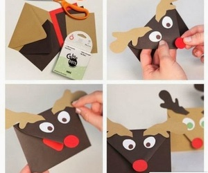 diy, christmas, and envelope image
