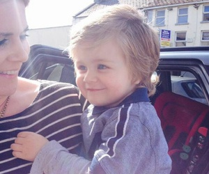 theo horan, baby, and denise horan image