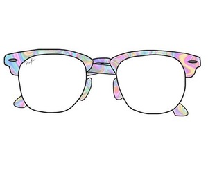 overlay, glasses, and transparent image