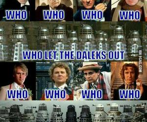 Dalek, series, and doctor who image