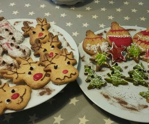 christmas, snack, and pastry image