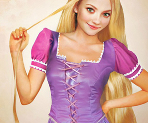 amanda seyfried and rapunzel tangled image
