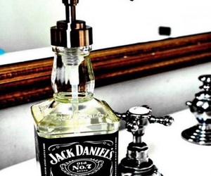 jack daniels, soap, and diy image