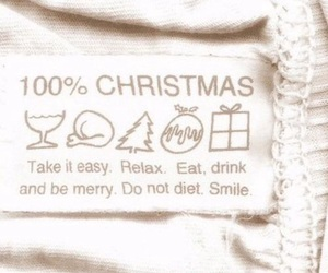 christmas, smile, and relax image