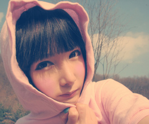 asian, hoodie, and girl image