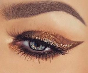 eyebrow, fashion, and makeup image