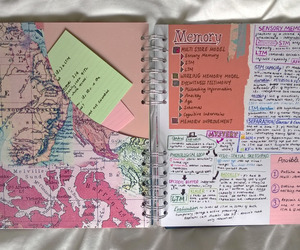 notebook, stationary, and study image