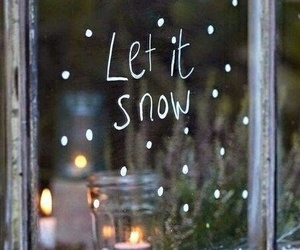 snow, winter, and words image