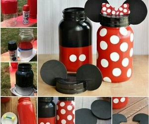 diy, mickey mouse, and minnie mouse image