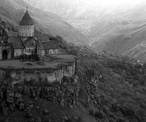 castle, nature, and armenia image