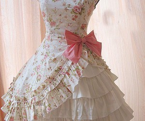beautiful, bow, and pastel image