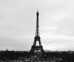 paris, beautiful, and black image