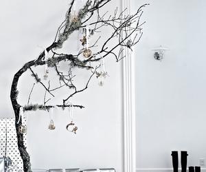 apartment, christmas, and black image