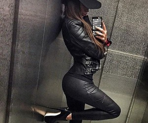 black, style, and hat image