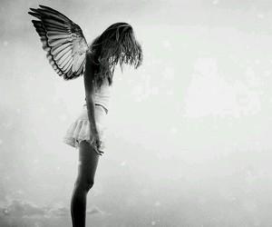 girl, angel, and skinny image