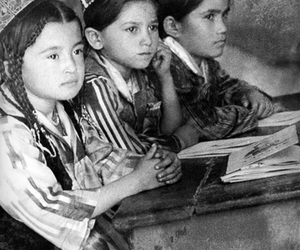 black and white, girls, and USSR image