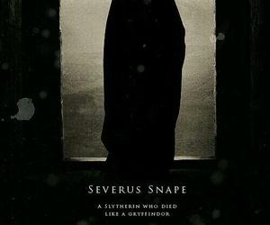 harry potter, severus snape, and slytherin image