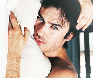 blue, eyes, and iansomerhalder image
