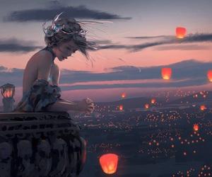 art, fantasy, and princess image
