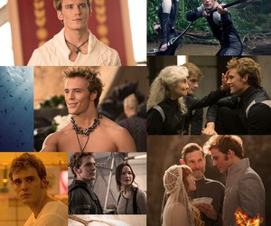 mockingjay, finnick odair, and finnick image