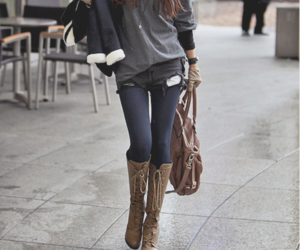 boots, style, and casual image