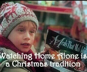 christmas, home alone, and tradition image
