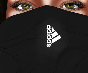 adidas, black, and colored image