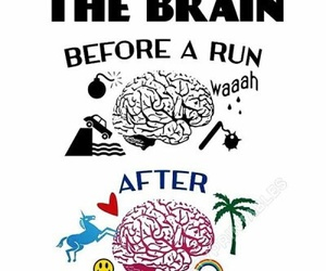 run, brain, and fitness image