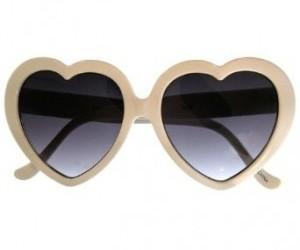heart sunglasses image