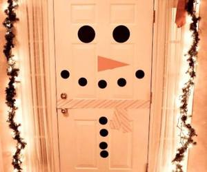 christmas, door, and diy image
