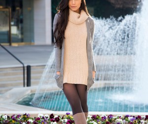 fashion, outfit, and tights image
