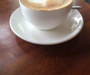 coffee shop, costa rica, and artistic latte image
