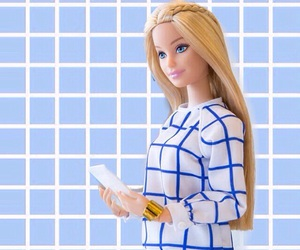 aesthetic, barbie, and blue image