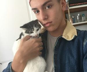 cat and lohanthony image