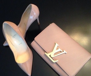 fashion, LV, and shoes image