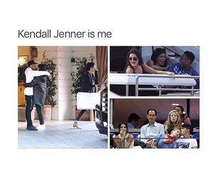 funny, kendall jenner, and me image