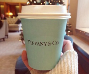 coffee, christmas, and tiffany & co image