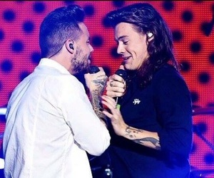 Harry Styles, liam payne, and one direction image