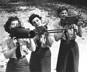 gun and girls image