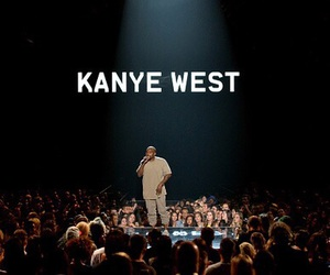 kanye west, dark, and theme image