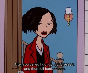 Daria, 90s, and cartoon image