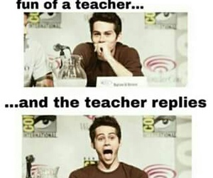 funny, teacher, and school image