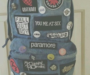 paramore, band, and bag image