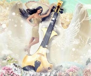 electric violin, linzi stoppard, and fuse violinists image