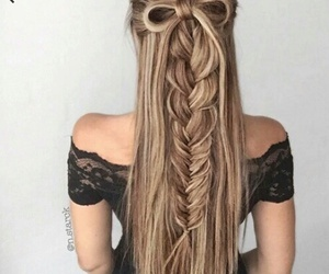 cool, braids, and fancy image